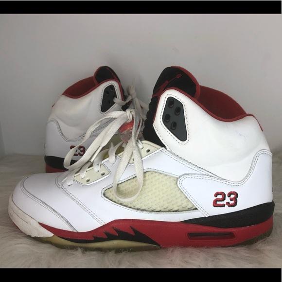 100% authentic 50c38 8af87 Jordan Other - 2006 Air Jordan 5 V Retro Size 10.5 Fire Red Black